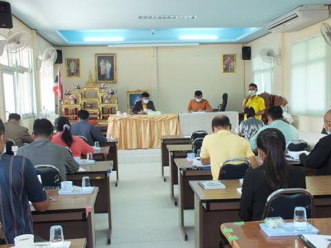 ประชุมคณะกรรมการพัฒนาองค์การบริหารส่วนตำบลโคกสะอาด และคณะกรรมการ