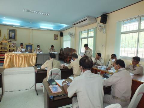 ประชุมสภาองค์การบริหารส่วนตำบลโคกสะอาด สมัยสามัญ สมัยที่ 3 ครั้ง